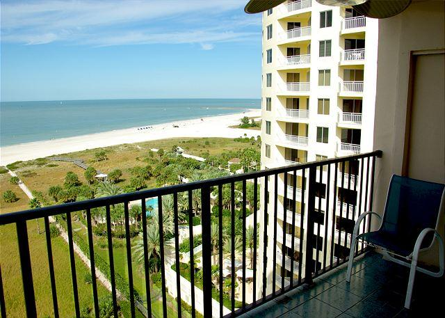 Northwest view from balcony - 15th Floor Beauty in Sand Key! 2 Bedroom, 2 Bath-Sleeps 4. 30 day minimum. - Clearwater - rentals