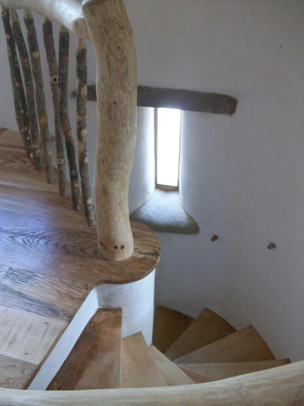 The stairs are a work of art! - Becklands Farm - Little Becklands - Bridport - rentals