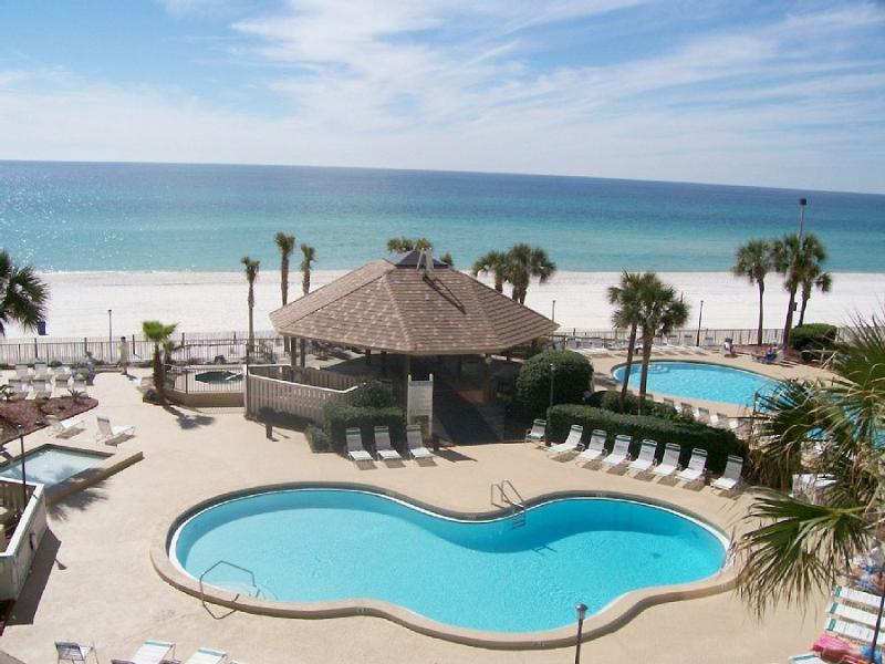 Beautiful View of pools, and Beach - Luxury 2Br Gulf Frt! W/ Beach Set,Early ck-in 5*s - Panama City Beach - rentals