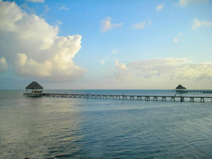 End of day with view of your private pier! - 3 bedroom condo on your own private beach! -C2 - San Pedro - rentals