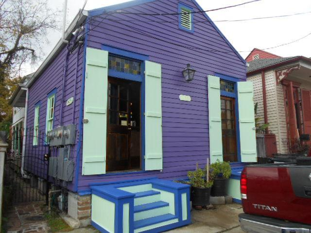Front of the unit - Your own historical cottage, steps to the Quarter. - New Orleans - rentals