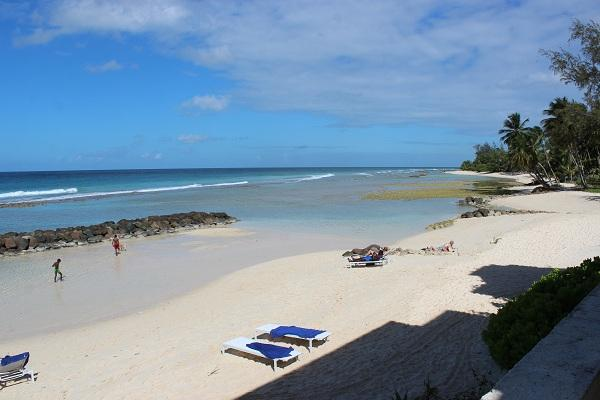 Beach on Board Walk - #23 Maple Gardens Barbados holiday rental apartment - Hastings - rentals
