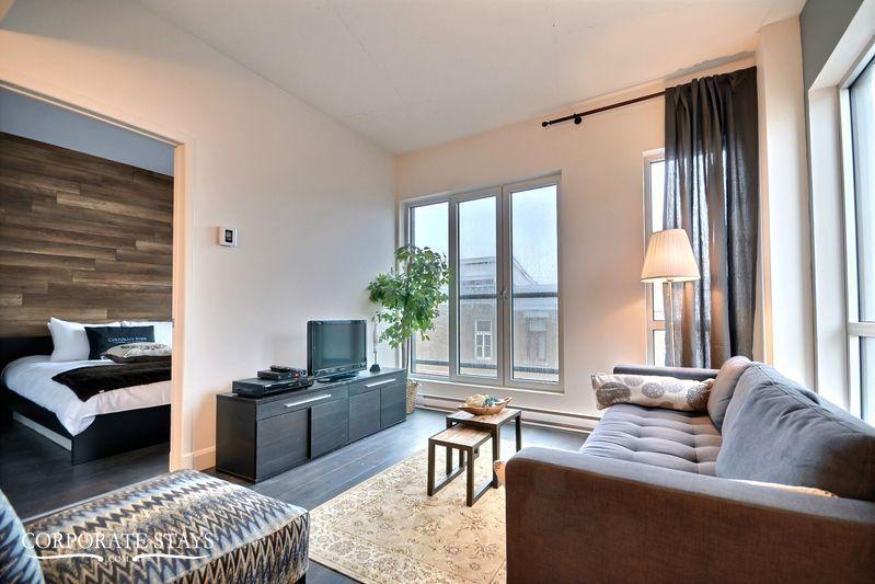 Quebec City Iroquois 1BR Temporary Apartment - Image 1 - Quebec City - rentals