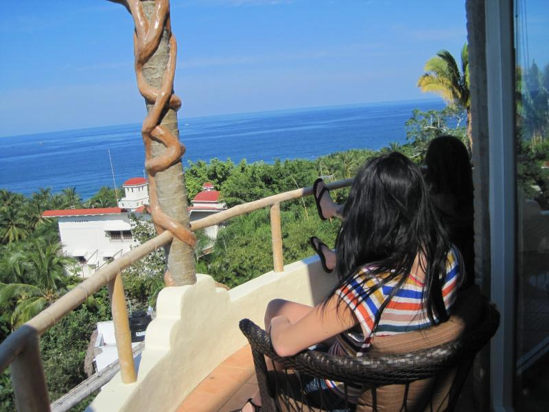 OCEAN WINDOWS relaxing - OCEAN WINDOWS #4 Ocean View at Casitas Sayulita - Sayulita - rentals