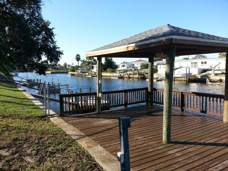 Beautiful westward view from the back - Hudson, Fl. Waterfront!! - Hudson - rentals