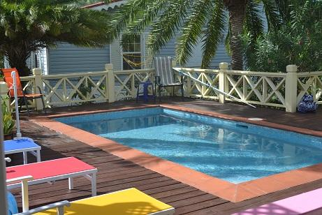 The glorious 10' x 20' pool! - Harbour View with a pool! Sleeps 6 - The Limes - Bolans - rentals