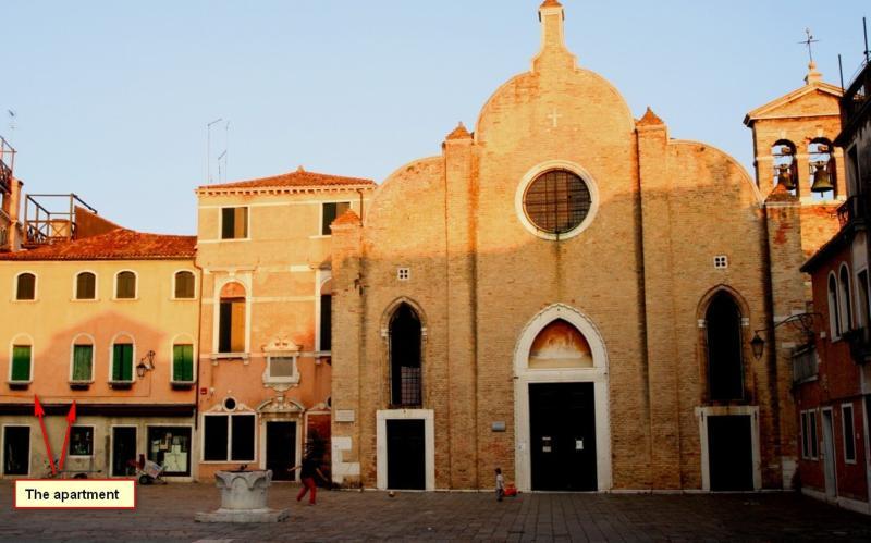 Wonderful view over Venetian Square near San Marco - Image 1 - Venice - rentals