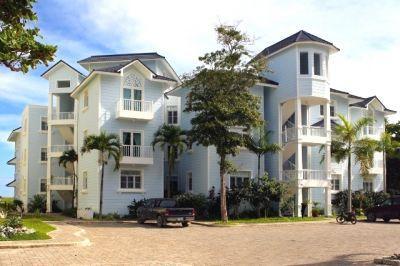 Front View Victorian Apartments Cabarete - Beach Front Condo Cabarete Dominican Republic - Puerto Plata - rentals
