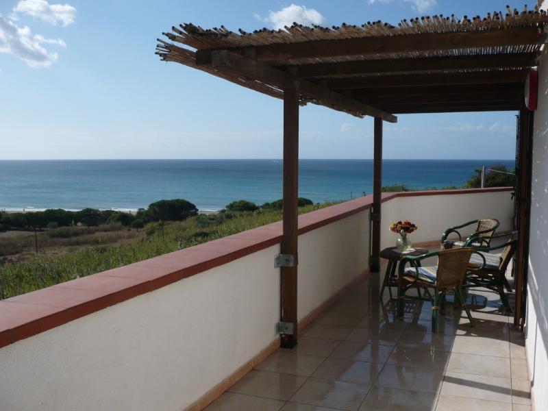 la magnifica vista del mare dalla veranda - attico il canneto di selinunte IL FARO - Marinella di Selinunte - rentals