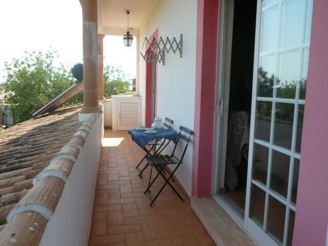 Balcony - T1 Country Apartment with Air conditionning and swmming pool D. Nuno - Proenca-a-Nova - rentals