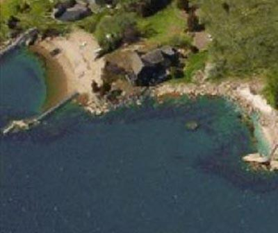 A private estate setting steps to the beach - Waterfront beach bungalow attached but  private apartment - Branford - rentals