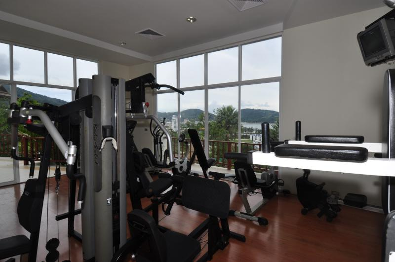 Common area: Gym room - B4-Sangha, L'Orchidee Residences - Patong - rentals