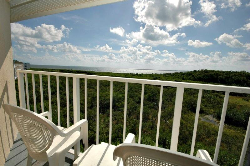View from your balcony! - 2412 Ocean Pointe - Ocean view on a budget! - Tavernier - rentals