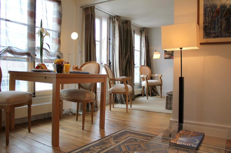 Living room - St Germain 2 bedroom apartment - Paris - rentals