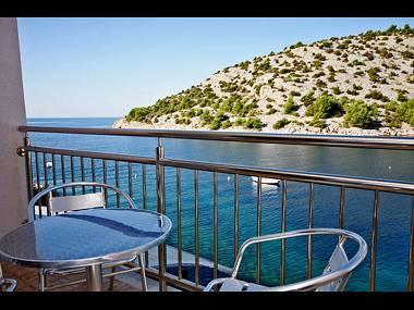 H(8+1): terrace - 34903 H(8+1) - Cove Stivasnica (Razanj) - Razanj - rentals