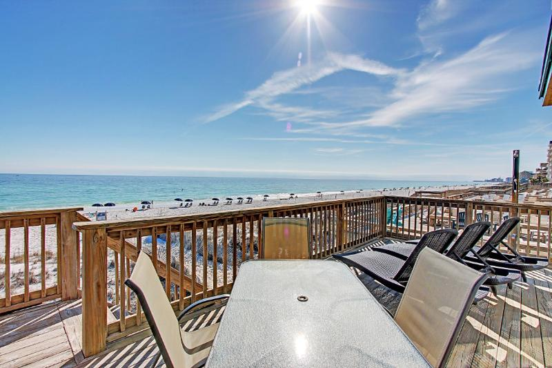 Good Day Sunshine - 15% OFF Stays From 4/11 - 5/15! 5BR/5BA Beach FRONT. Beach Setups for 2-Crystal - Image 1 - Destin - rentals