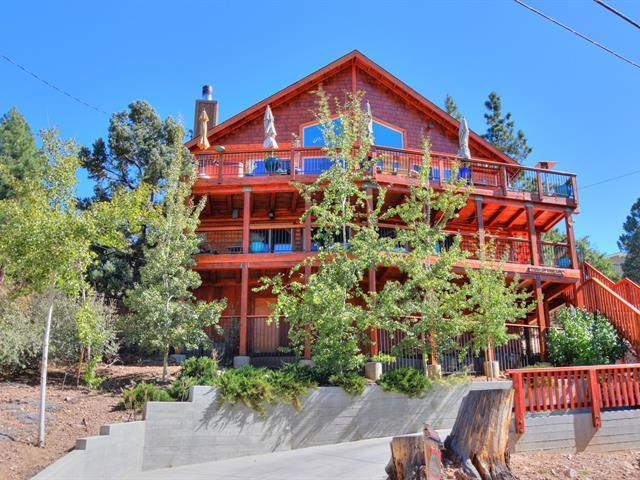 Luxury180 Degree  Mountain View Cabin W Indoor/outdoor Hot Tub - 3rd night free in May, June - Image 1 - Big Bear Lake - rentals