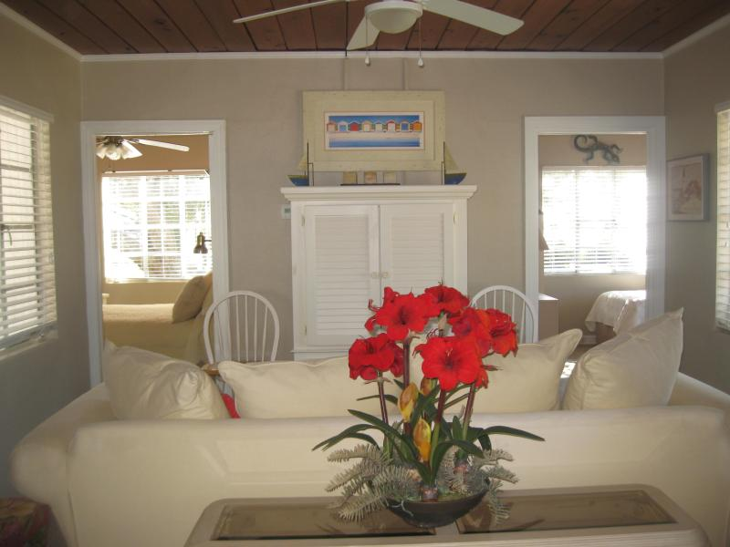 LIVING ROOM - Escape to Tranquility at Mexico Beach - Mexico Beach - rentals