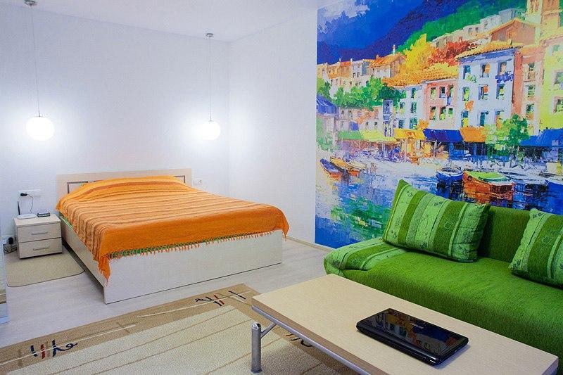 """1-room apartment """"Akvarele"""" - Image 1 - Minsk - rentals"""