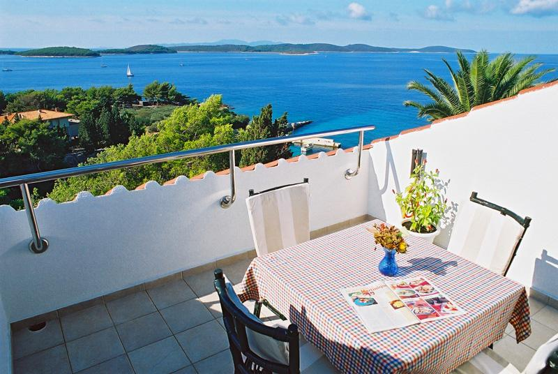 Terrace - Milicic Apartment 2 - Hvar - rentals