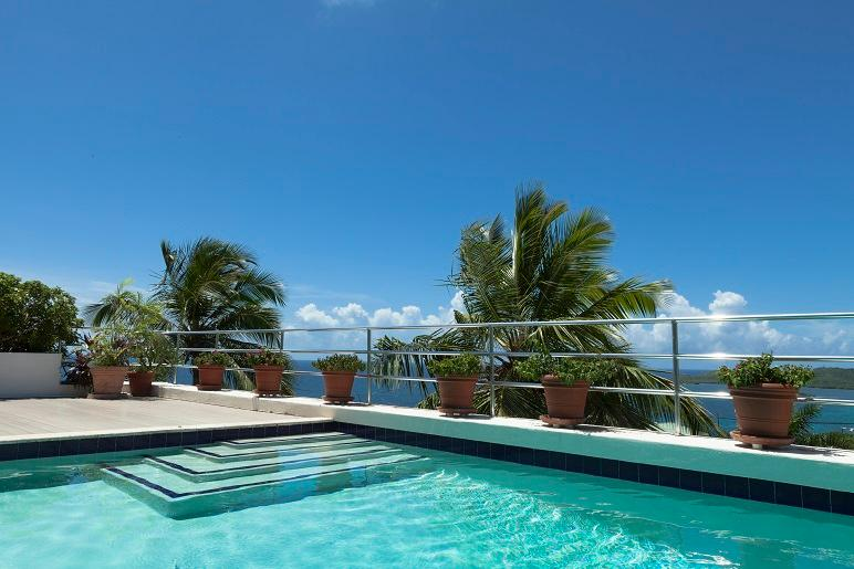Great View at Redhook Bay, St. Thomas - Ocean View, Pool, Cooling Trade Winds - Image 1 - East End - rentals