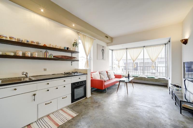 Living room & Kitchen - Stylish Designed - Rothschild Blvd! - Tel Aviv - rentals