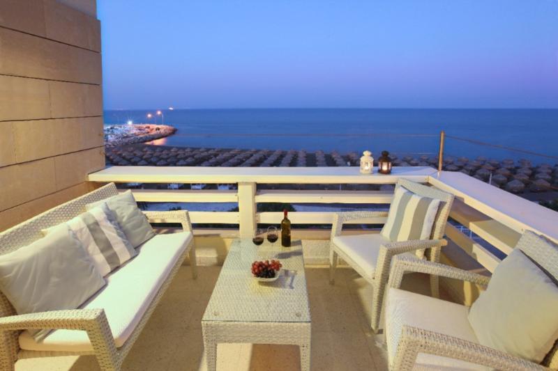 LAMK1 Makenzy Seafront Suite - Image 1 - Larnaca District - rentals