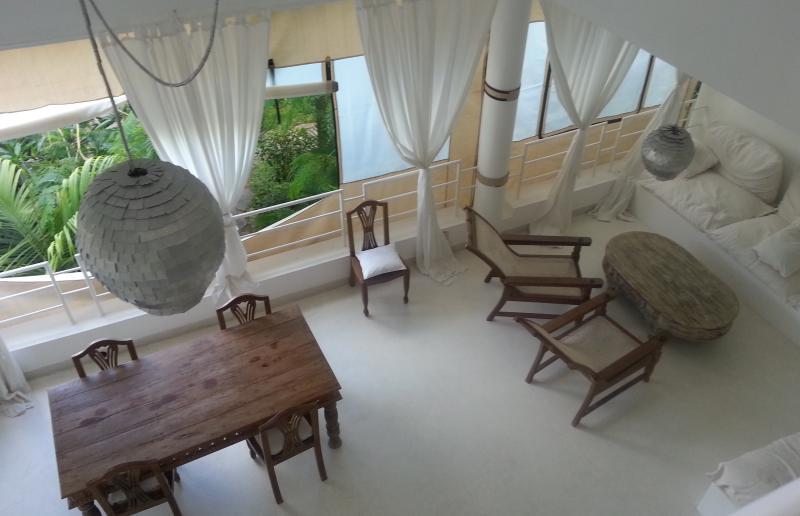 lovely terrace - Beach front accommodation in Watamu, Kenya - Watamu - rentals