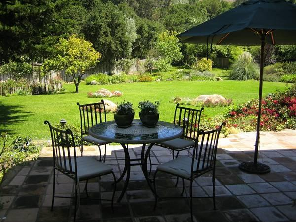 Very Large Studio on a 2 acre garden paradise - Image 1 - Montecito - rentals