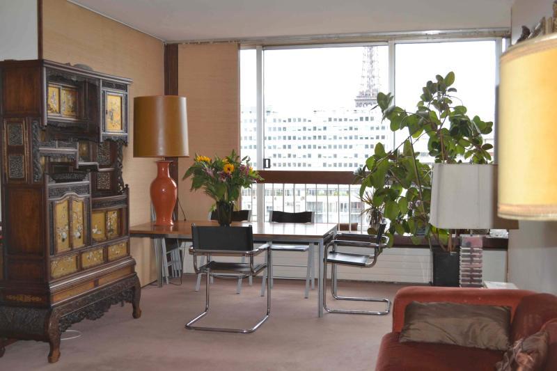 Sejour - salle a manger - Eiffel Tower panorama pool - Paris - rentals