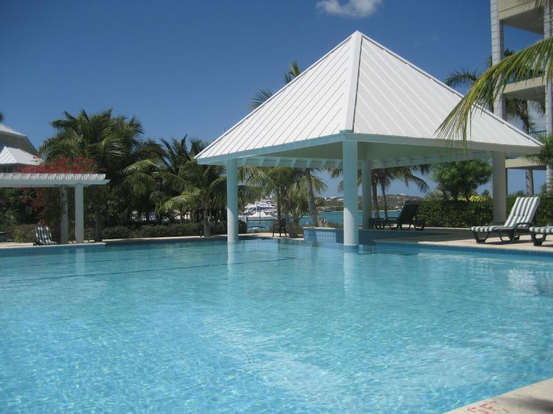 The Pool area - The Yacht Club - Providenciales 2 bed 2 bath - Providenciales - rentals