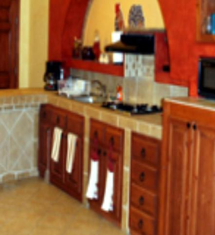 View of the kitchen - The Moray Eel - Puerto Penasco - rentals