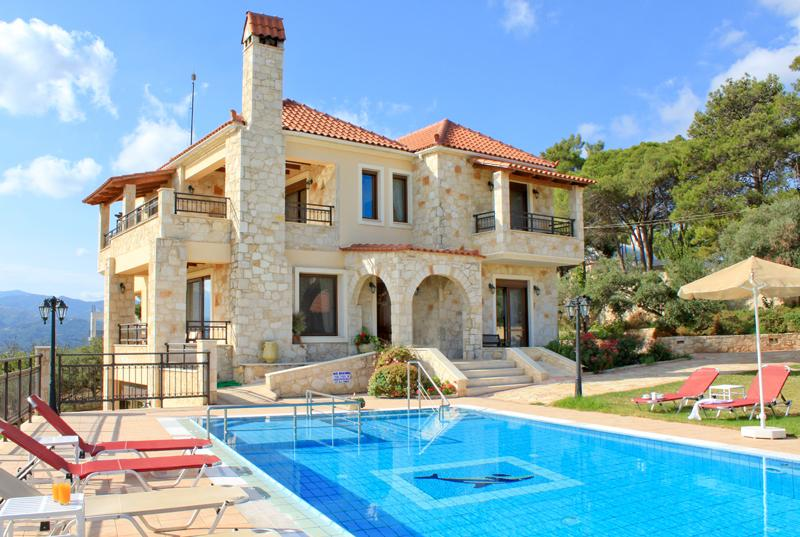 Exterior - Private Pool - Traditional Luxury Chania Villa to Rent - Chania - rentals