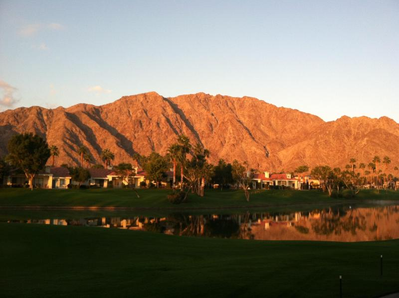 Gorgeous sunset! The view from the patio. - PGA WEST BEAUTY: Amazing Views & LAST MINUTE DEALS! - La Quinta - rentals