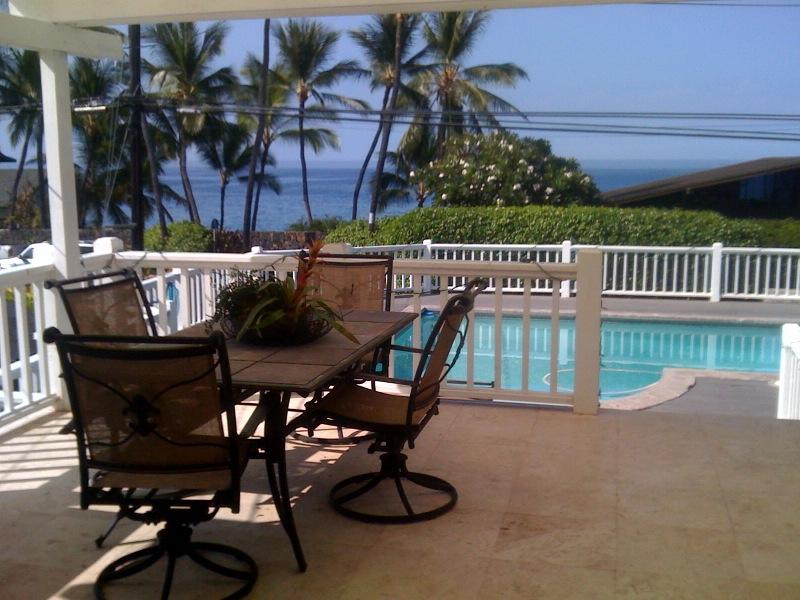View from lanai - LOCATION, LOCATION, LOCATION - Kailua-Kona - rentals