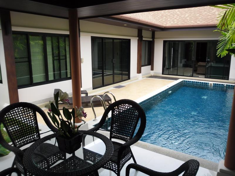 Villa pool and garden sala - 2 bed pool villa  for rent in Phuket Thailand - Rawai - rentals