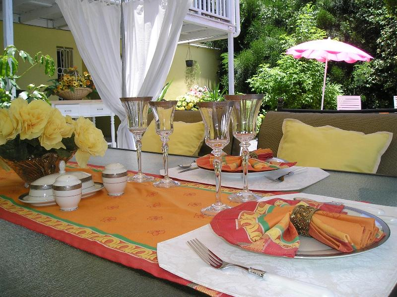 Dining in the Garden - Calypso Suite - Frederiksted - rentals
