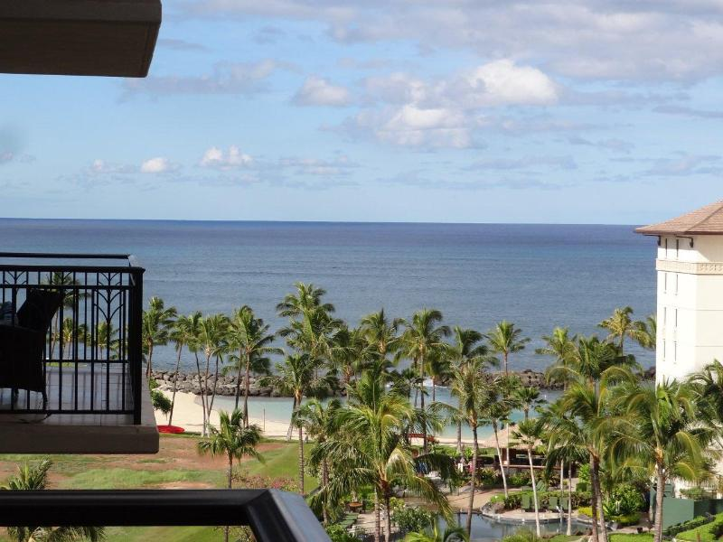 View the Pacific Ocean from your lanai - Amazing Ocean View - Lux 3BR Beach Villas (3B821) - Kapolei - rentals
