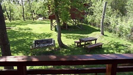 View from Balcony - Cabin with capacity up to 2 people - Tigre - rentals