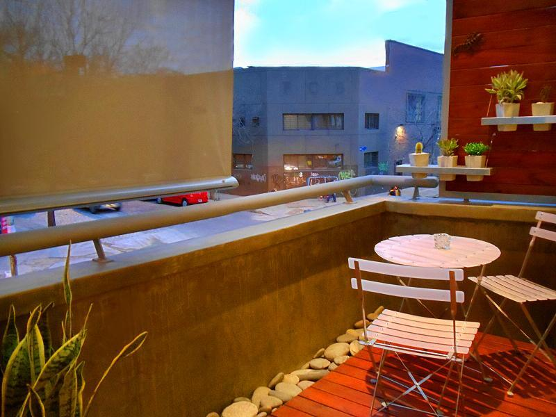 balcony - LUXURY DUPLEX, fully equipped, 2Bd - Buenos Aires - rentals