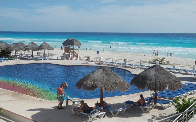 Departamento de dos recamaras frente al mar - Image 1 - Cancun - rentals