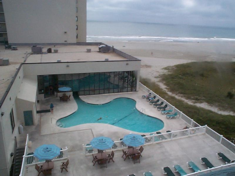 view from hallway of unit of beach - At the Beach 2BR/2BA   Newly renovated - Myrtle Beach - rentals