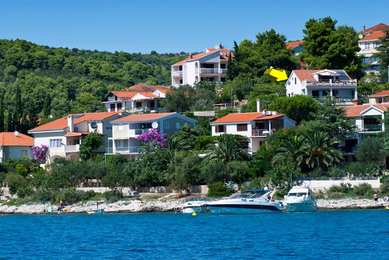 View from the Bay - Remodeled Seaside Apartment, near Trogir, Croatia - Okrug Gornji - rentals