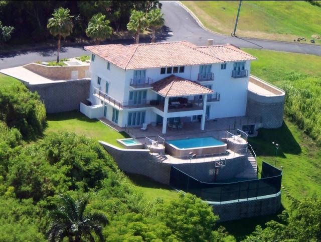 Air photo - 6 bedroom House inside Wyndham Resort Spa & Casino Breathtaking views, basketball court, game room &  Pool /  VILLA PAONESSA - Rio Grande - rentals