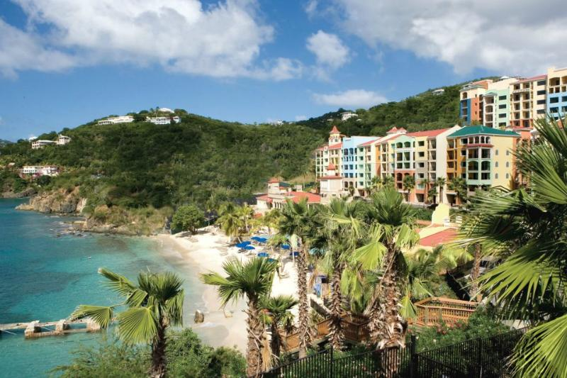 View from the side. - Marriott's Frenchman's Cove-2BR-Full Resort Access - Saint Thomas - rentals
