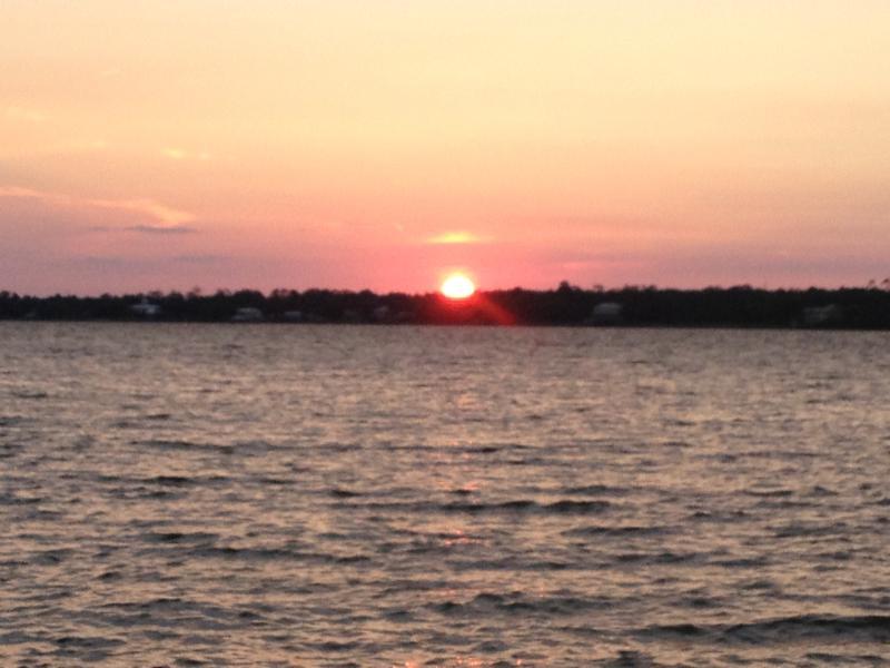 Evening sunset on Little Lagoon - Gulf Shores Best Kept Secret... West Beach - Gulf Shores - rentals