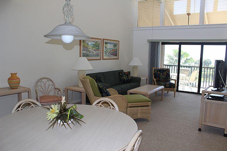 Dinning and Living room - Sanibel Beach Club-Sanibel Island, FL 2br/2ba codo - Sanibel Island - rentals