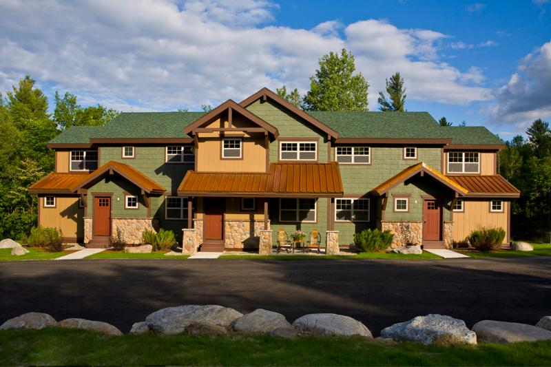 Owaissa Club - Unit 1, Left End Cap Unit - Brand New Home on AuSable River & 2 mi from Whitef - Wilmington - rentals