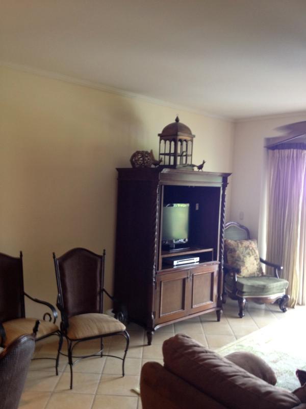 Living Room - 3 Bedroom Luxury Condo Pacific Ocean View - Herradura - rentals