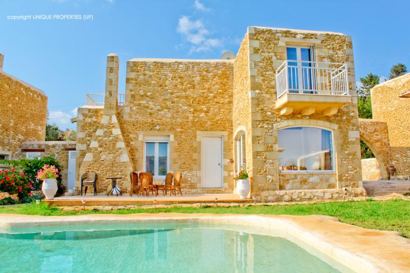 Exterior - Private Pool - Traditional Cretan Villa with Pool, near the Beach - Chania - rentals